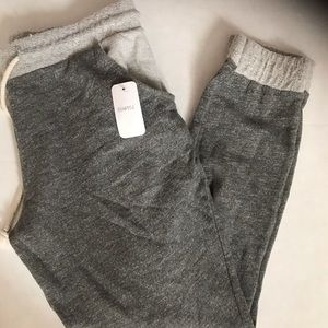 LA Heats grey joggers women's size large